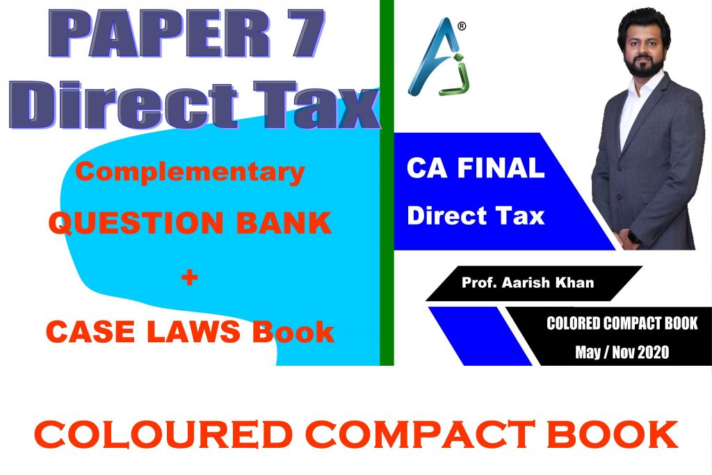 CA Final Direct Tax Compact
