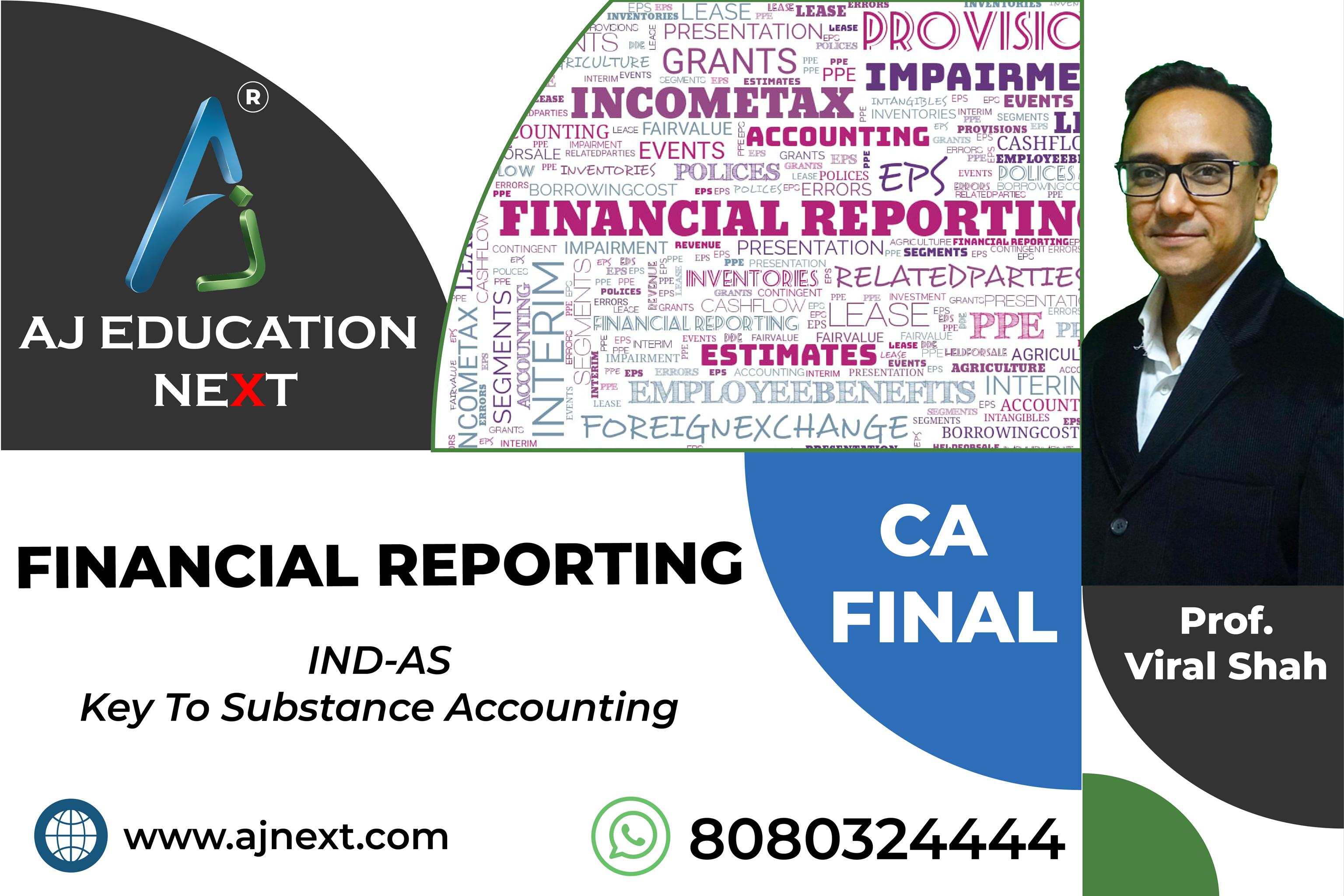 FINANCIAL REPORTING – IND-AS Charts