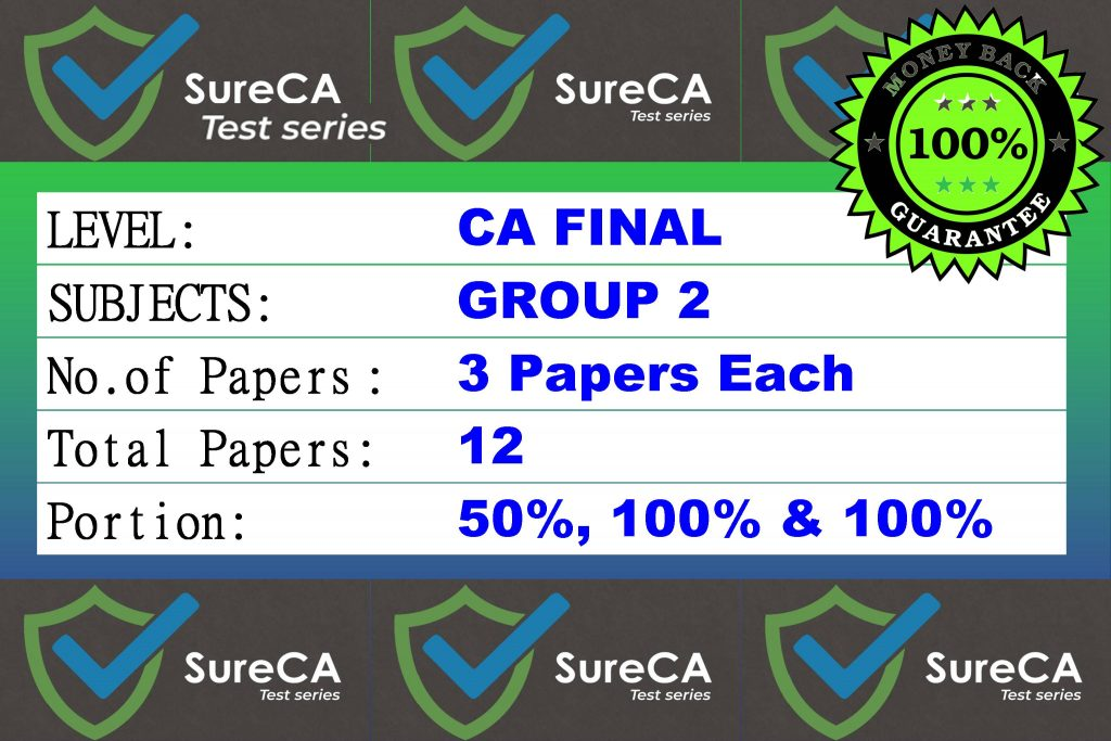 buy ca final sure test series