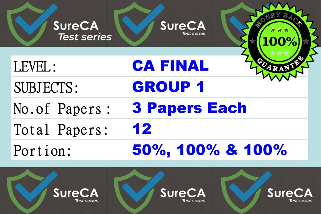 CA Final Test Paper Series