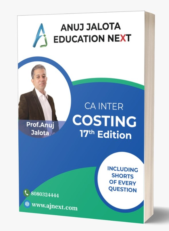 CA INTER – Costing – 17 Edition (Latest Edition with Coloured Book)
